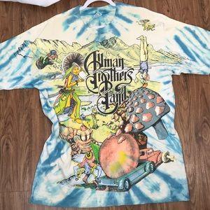Allman Brothers Band 1995 Tour Tye Dye Size XL